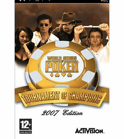 Activision World Series Of Poker Tournament Of Champions PSP product image