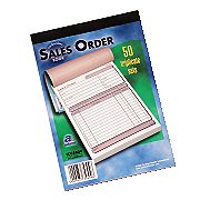 Adams Carbonless Sales Order Forms (Triplicate) 141 x product image