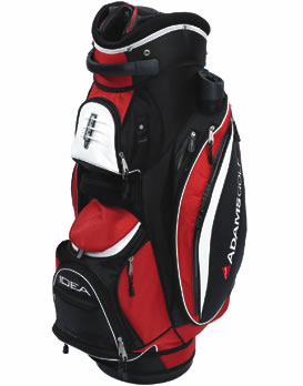 Golf Cart Bag Black/Red
