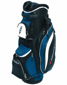 Golf Cart Bag Blue/Black