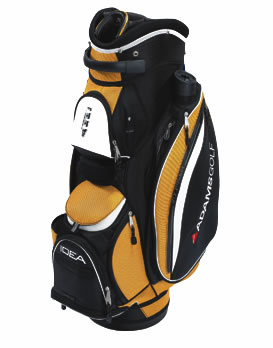 Golf Cart Bag Yellow/Black