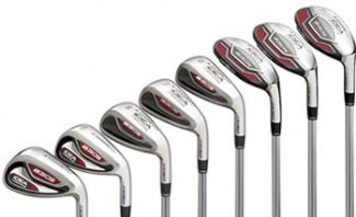 IDEA A3 OS IRONS STEEL RIGHT HAND / 3-PW (8 CLUBS) / REGULAR