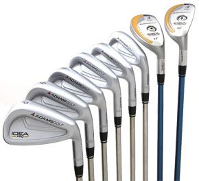 IDEA PRO IRONS STEEL RIGHT HAND / 3-PW (8 CLUBS) / STIFF