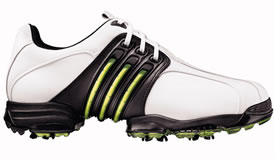 adidas 08 Tour 360 II Golf Shoe Running White/Graphite/Slime