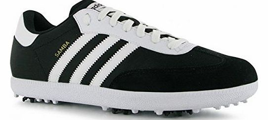 2013 Adidas Samba Funky Golf Shoes-Black/White-9UK