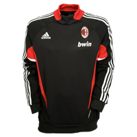 Adidas AC Milan Training Top - Black/Red. product image