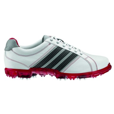 adiCROSS Tour Golf Shoes White/Red