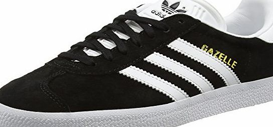 adidas  Gazelle, Unisex Adults Low-Top Sneakers, Black (Core Black/White/Gold Met), 8 UK (42 EU)