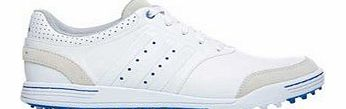 Golf 2014 Mens Adicross III Golf Shoes - White - UK 13 Wide