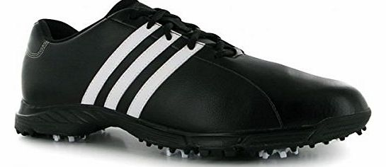 Golflite Tr Mens Golf Shoe Black/White Wide Fitting 9.5