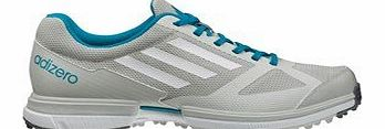 Ladies Adizero Sport Golf Shoes (Grey/White/Marine) 2014 Ladies 4 Grey/White/Marine Reg Ladies 4 Grey/White/Marine Reg