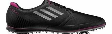 W Adizero Tour Ladies Golf Shoe (UK 4, Black)