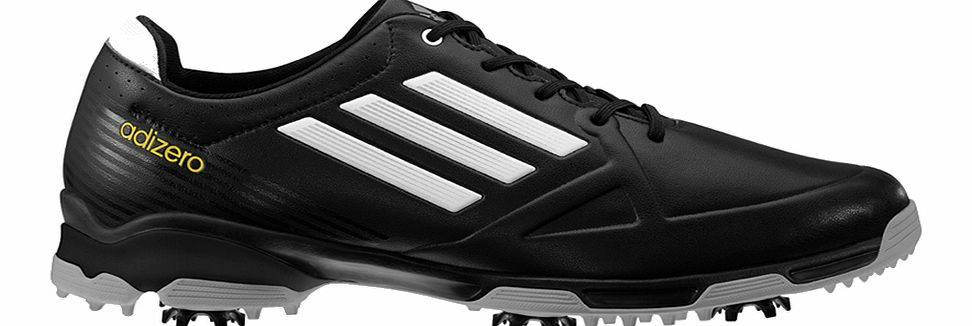 adiZERO 6 Spike Golf Shoes Black/White
