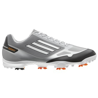 adiZero One Golf Shoes Mid Grey/Zest/White
