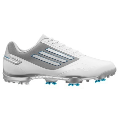 adiZero One Golf Shoes White/Tech