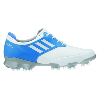 adiZERO Tour Golf Shoes White/Blue