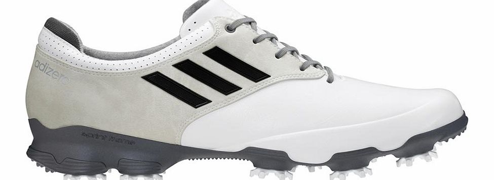 adiZERO Tour Golf Shoes White/Silver/Dark