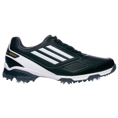 adiZero TR Golf Shoes Black/White/Zest