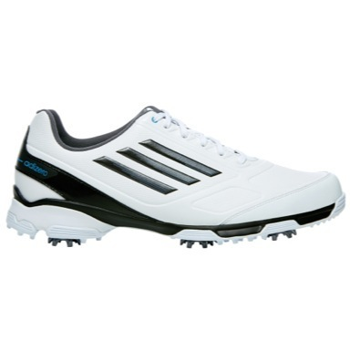 adiZero TR Golf Shoes White/Black/Solar