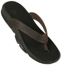 Adidas Black and Brown Flip Flops product image