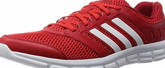 adidas Breeze 101 2, Mens Competition Running Shoes, Red - rot (Vivred/Ftwwht/Powred), 9 UK