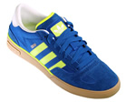 Adidas Ciero Blue/ Electric Green Trainers