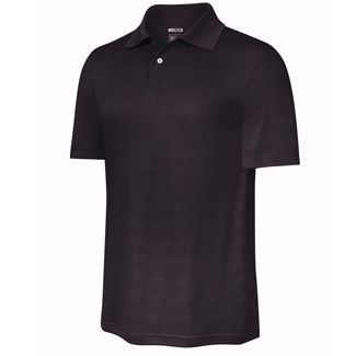CLIMACOOL TEXTURED SOLID POLO Graphite / Small