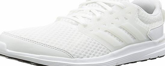 adidas Galaxy 3, Mens Training Running Shoes, White (ftwr White/crystal White/silver Met), 9.5 UK (44 EU)