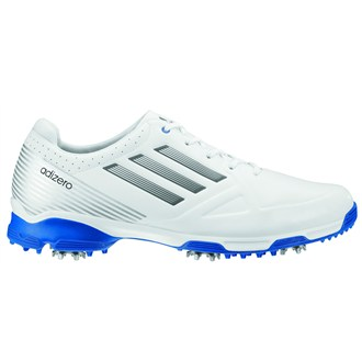 Adidas Adizero 6-Spike Mens Golf Shoes (White)