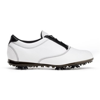 Adidas Ladies Adiclassic Golf Shoes (White/Black)