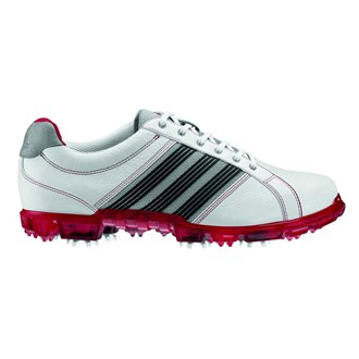 Adidas Mens Adicross Tour Golf Shoes (White/Red)