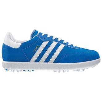 Adidas Samba Golf Shoes White Navy Gum