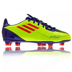 Junior F10 TRX Firm Ground Football Boots