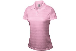 Ladies ClimaCool Textured Solid Polo