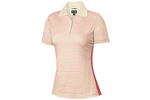 Ladies ClimaCool Twin Stripe Golf Polo