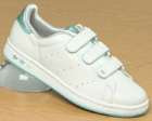 Ladies Stan Smith CF White/Ocean Trainers