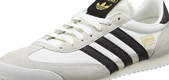 adidas Mens Dragon Trainers, White (Vintage White/Core Black/Off White), 13 UK
