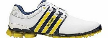 Mens Tour360 ATV M1 Golf Shoes (Wht Yel) in 10 White & Yellow & Navy