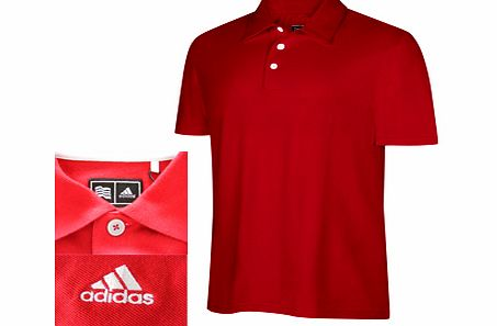 MOTION SMU PIQUE POLO UNIVERSITY RED/WHITE / LARGE