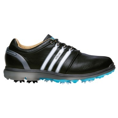 Pure 360 Golf Shoes Black/White/Samba