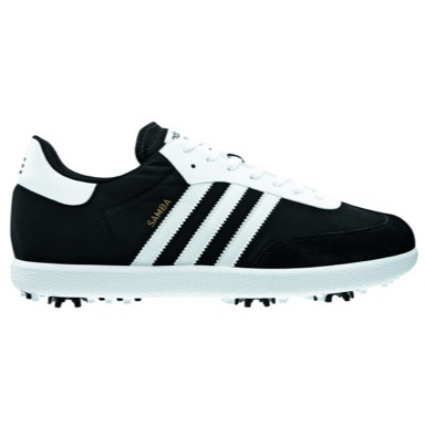 Samba Golf Shoes Black/White plus Free Hat