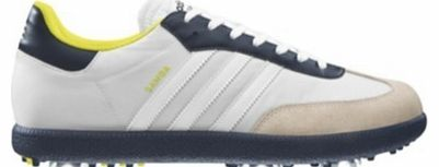 Samba Golf Shoes White/Navy/Highlighter