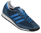 Adidas SL72 Blue Material Trainers