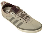 Adidas Vespa S Grey/White Leather Trainers