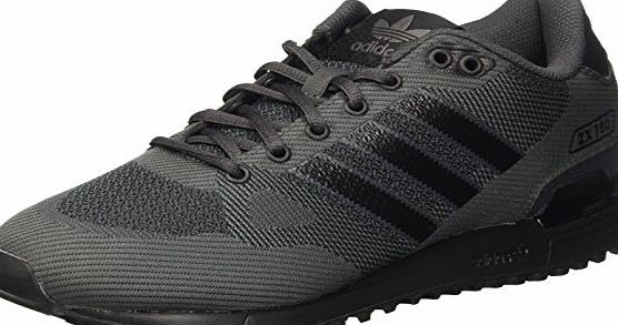adidas Zx 750 Wv, Mens Sneakers, Black (Core Black/Core Black/Dark Grey), 7.5 UK
