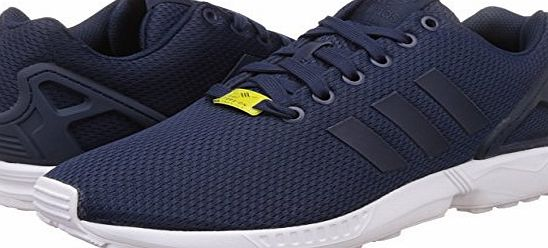 adidas Zx Flux, Unisex Adults Training Running Shoes, Blue (New Navy/New Navy/Running White), 9 UK (43.33 EU) (9.5M US) (10.5W US)