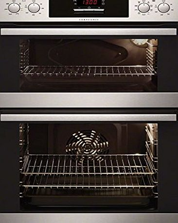 AEG DC4013021M Stainless Steel Electric Built-in Double Oven