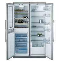 AEG S75598KG Steel Freestanding American Fridge Freezer – Counter Depth Thumbnail