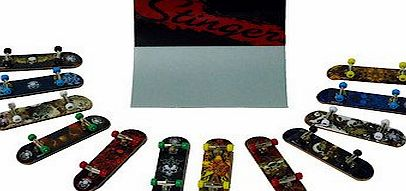 Aggressive Development Stinger 8 Mini Decks and Stunt Ramp/Stairs