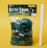 AGP Battle Squad Army Soldiers and Accessories Play Set 120pcs (D65416)